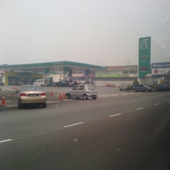 Photo taken at Petronas by zull a. on 6/20/2013