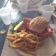 Photo taken at Hoak's Lakeshore Restaurant by Brett W. on 8/11/2013