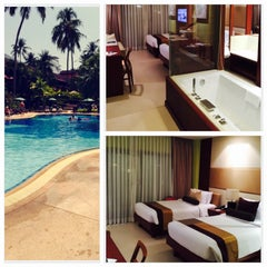Photo taken at Patong Merlin Hotel Phuket by Gabriela M. on 3/7/2015