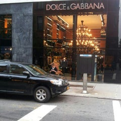 Photo taken at Dolce&Gabbana by Andrew M. on 10/4/2012