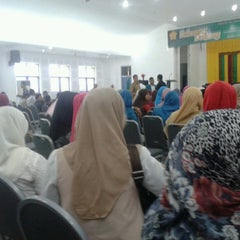 Photo taken at Auditorium FKIP UNSYIAH by Dini F. on 4/4/2013