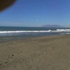 Photo taken at Playa Rincón de la Victoria by Ricardo A R. on 7/1/2012