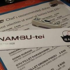 Photo taken at Nambu-Tei by Godwyns O. on 2/7/2014