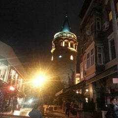 Photo taken at Galata Kulesi by Nurullah D. on 10/3/2013
