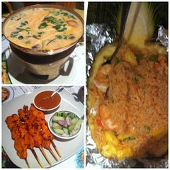 Photo taken at Siam Taste Thai Cuisine by Grace C. on 1/18/2013
