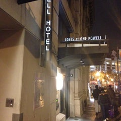 Photo taken at Powell Hotel by Junpei Y. on 11/19/2013