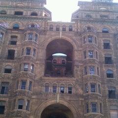 Photo taken at Divine Lorraine Hotel by Bryan F. on 10/15/2011