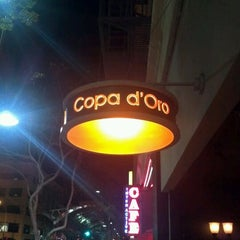 Photo taken at Copa D'Oro by Nishant N. on 1/28/2012