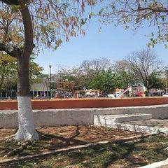 Photo taken at Parque de Pensiones 4ta Etapa by Yulissa H. on 4/1/2013