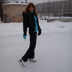 Photo taken at Каток by Светлана Д. on 2/3/2013