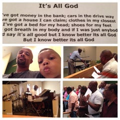 Photo taken at Christ The King Baptist Church by Nick N. on 6/14/2014