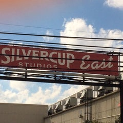 Photo taken at Silvercup East by George W. on 10/16/2014