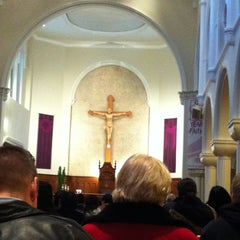 Photo taken at St. Mary's Cathedral by Nina C. on 2/13/2013