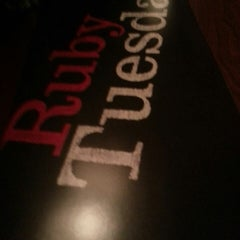 Photo taken at Ruby Tuesday by Amber B. on 4/9/2013
