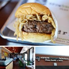 Photo taken at Crow Burger Kitchen by Crow Burger Kitchen on 5/30/2013
