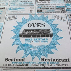 Photo taken at Oves Beach Grill by Mrs. Q on 8/3/2013