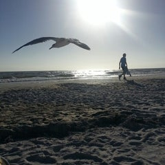 Photo taken at Fort Myers Beach by Bette G. on 1/31/2013