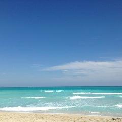 Photo taken at South Beach by Roman V. on 3/15/2013