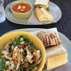 Photo taken at Panera Bread by Diana L. on 8/14/2015