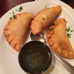 Photo taken at Moros Cuban Restaurant by Tim C. on 9/22/2013