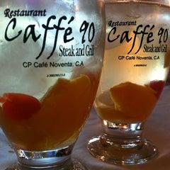 Photo taken at Caffé 90 by Oriana Valentina L. on 1/20/2013