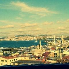 Photo taken at Ağa Kapısı by İpek B. on 4/20/2013
