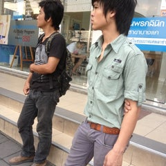 Photo taken at BMTA Bus Stop เดอะมอลล์บางแค ขาออก (The Mall Bangkae Outbound) by SAPPHAWAT_OFFICIAL on 11/7/2012