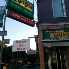 Photo taken at La Victoria Mexican Bakery & Cafe by meli on 1/6/2015
