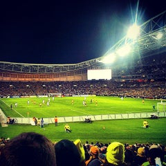 Photo taken at ANZ Stadium by Hendy O. on 6/18/2013