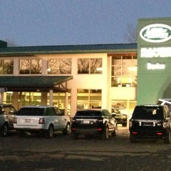 Photo taken at Land Rover Darien by MAGGIE W. on 2/6/2013
