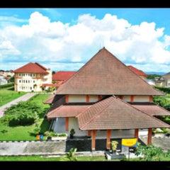 Photo taken at Sekolah Tinggi Pertanahan Nasional (STPN) by Echyamaliaaa on 2/22/2013