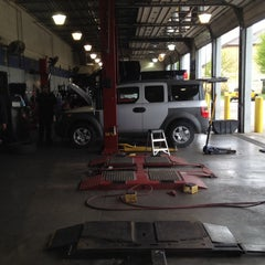 Photo taken at NTB - National Tire & Battery by Aaron F. on 4/5/2014