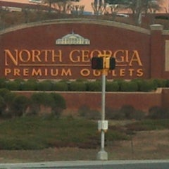 Photo taken at North Georgia Premium Outlets by Naomi B. on 12/23/2012