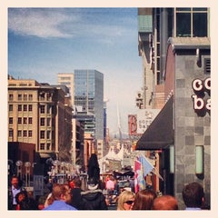 Photo taken at 16th Street Mall by Jeremy S. on 3/14/2013