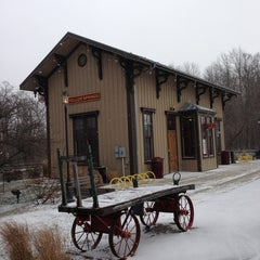 Photo taken at Village of Yellow Springs by Aysegul Y. on 1/21/2013