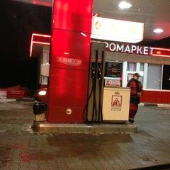 Photo taken at АЗС ПТК by Dariya S. on 2/13/2013