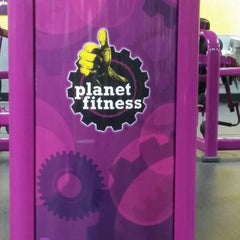 Photo taken at Planet Fitness by Sandra A. on 7/30/2014