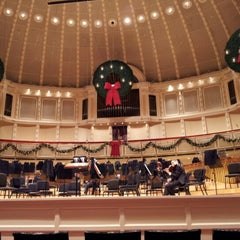 Photo taken at Symphony Center (Chicago Symphony Orchestra) by Daniel B. on 12/22/2012
