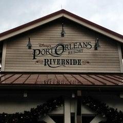 Photo taken at Disney's Port Orleans Riverside Resort by Roberto H. on 12/29/2012