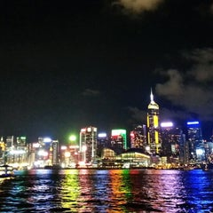 Photo taken at Victoria Harbour 維多利亞港 by Lo K. on 5/30/2013