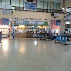 Photo taken at สถานีขนส่งผู้โดยสารเชียงใหม่ แห่งที่ 2 (อาเขต) Chiangmai Bus Terminal 2 (Arcade) by Tommy B. on 1/26/2013