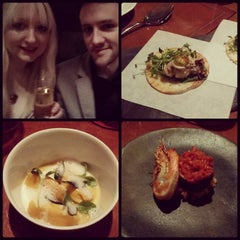 Photo taken at Degustation by Becky L. on 1/25/2015