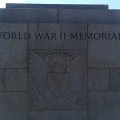 Photo taken at World War II Memorial by Abimael P. on 5/31/2013