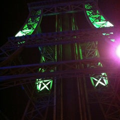 Photo taken at La Tour Eiffel by Albertt F. on 8/4/2013