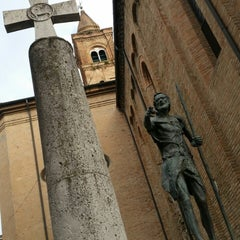 Photo taken at Cattedrale di San Giovanni Battista by Gianluca B. on 7/25/2014