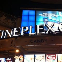 Photo taken at Cineplex Odeon Queensway Cinemas by Richy L. on 1/28/2013