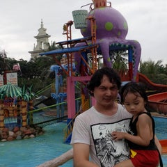 Photo taken at Citra Garden Water Park by Hendrik W. on 2/7/2014