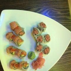 Photo taken at Kiraku Hibachi & Sushi by Veronica S. on 4/6/2014