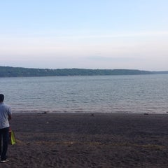 Photo taken at Plage Jacques Cartier by Melissa Z. on 7/22/2014