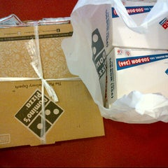 Photo taken at Domino's Pizza by Johanna F. on 5/9/2013